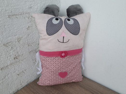 Nestchen Kissen für Bettumrandung in Form eines Panda