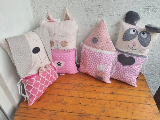 Nestchen Kissen für Bettumrandung