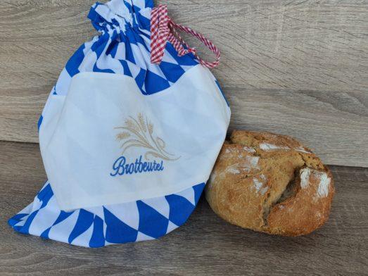 Brotbeutel Bayerisch mit Stickerei